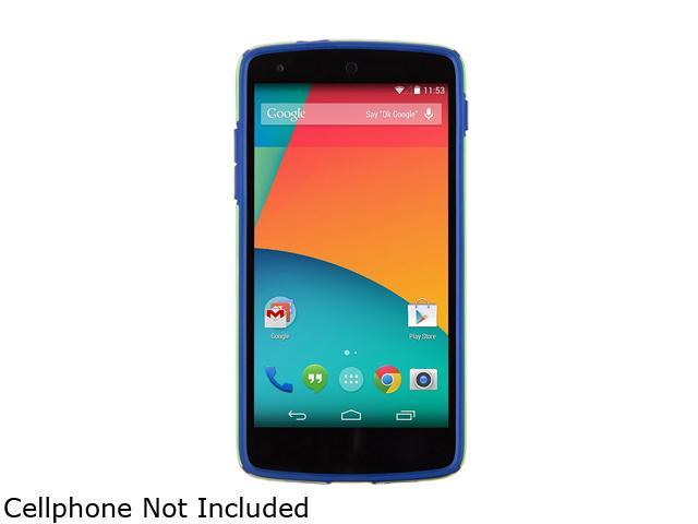 Speck Products CandyShell Tennis Ball Green/Cadet Blue Case for LG Nexus 5 SPK-A2511