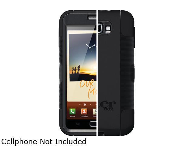 OtterBox Defender Black Case For Samsung Galaxy Note SAM2-N7000-20-E4OTR