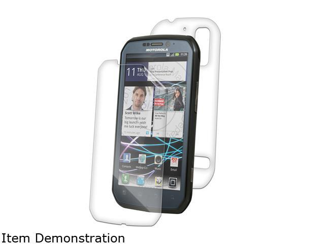 Zagg invisibleSHIELD Full Body Coverage for Motorola Photon 4G/Electrify MOTPHO4LE