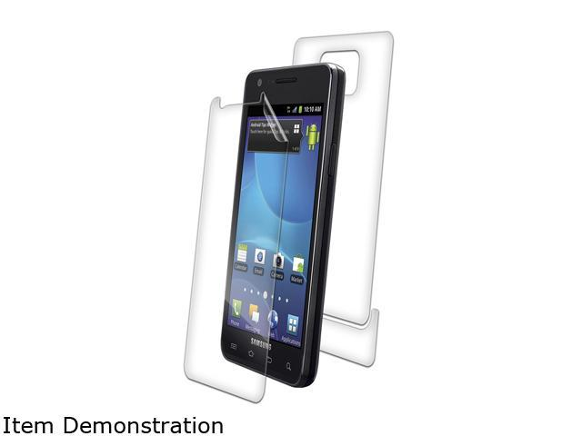 Zagg invisibleSHIELD Clear Screen Protector for Samsung Galaxy S II SGH-i777 SAMSGHI777LE
