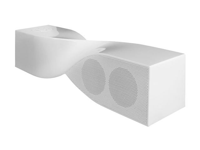 i.Sound ISOUND-1691 White Bluetooth Twist Speaker and Speakerphone