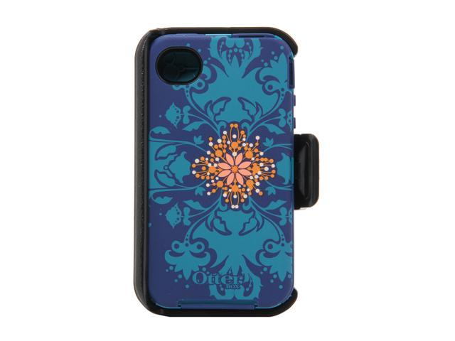 OtterBox Defender Blue / Teal Sublime Case For iPhone 4/4S 77-20417