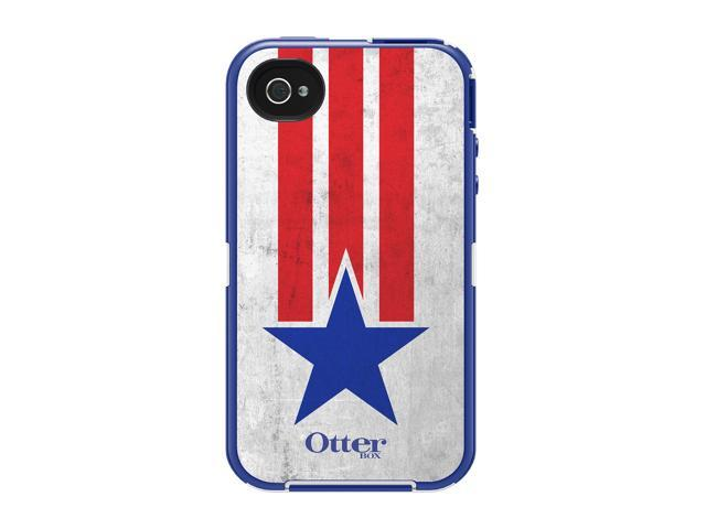 OtterBox Defender Star & Stripes Case For iPhone 4/4S 77-21236