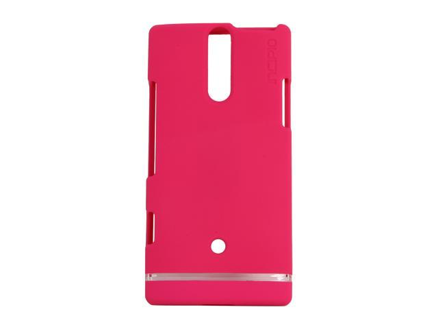Incipio EDGE Magenta Hard Shell Slider Case For Sony Xperia S SE-106