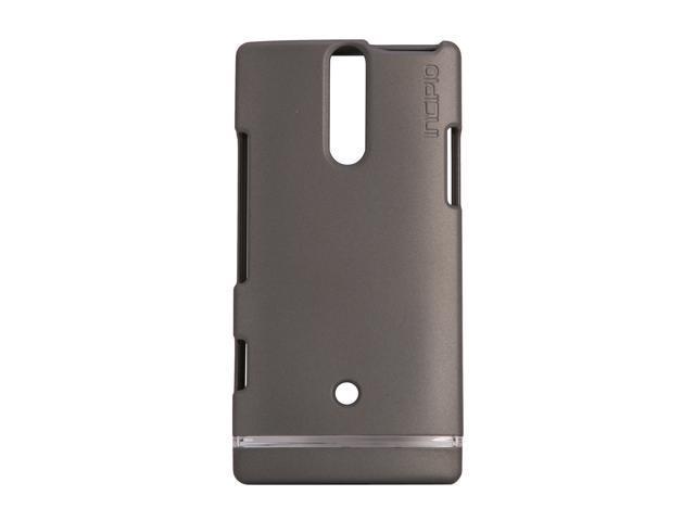 Incipio EDGE Iridescent Gray Hard Shell Slider Case For Sony Xperia S SE-107
