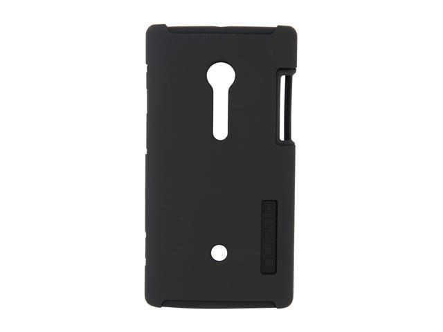 Incipio SILICRYLIC Black / Black DualPro Hard Shell Case with Silicone Core For Sony Xperia ion SE-133
