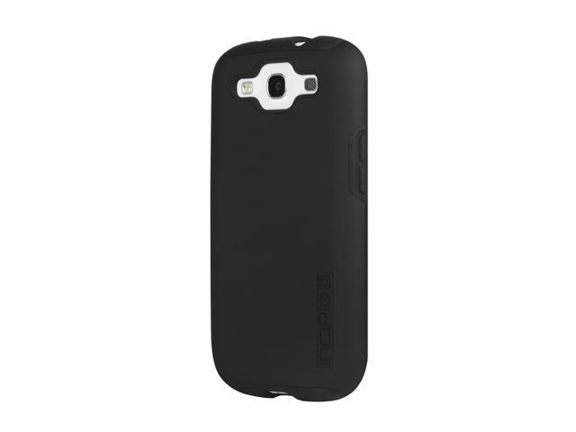 Incipio SILICRYLIC DualPro Black / Black Hard Shell Case with Silicone Core For Samsung Galaxy S III SA-302