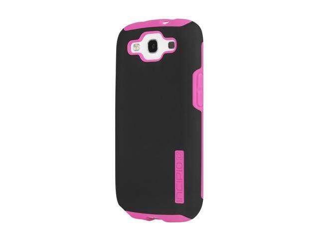 Incipio SILICRYLIC DualPro Black / Neon Pink Hard Shell Case with Silicone Core For Samsung Galaxy S III SA-303