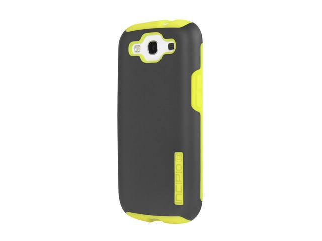 Incipio SILICRYLIC DualPro Dark Gray / Yellow Hard Shell Case with Silicone Core For Samsung Galaxy S III SA-304