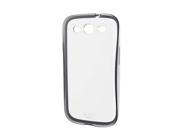iLuv Twain White Two-Part, Dual Protection Case for Samsung GALAXY S III ISS248