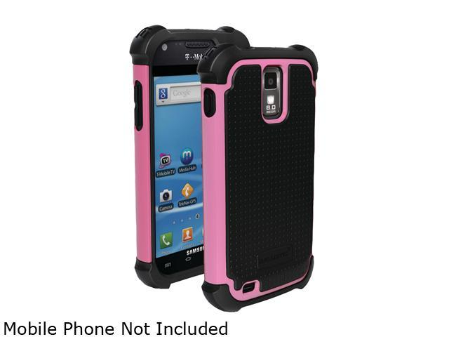 Ballistic Case Shell Gel (SG) Black / Pink Case For Samsung Galaxy S II T989 SA0737-M365