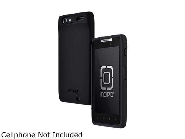 Incipio NGP Black Semi-Rigid Soft Shell Case For Motorola DROID RAZR MT-163