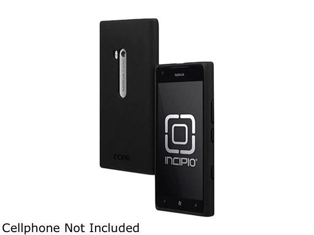Incipio NGP Black Semi-Rigid Soft Shell Case For Nokia Lumia 900 NK-108
