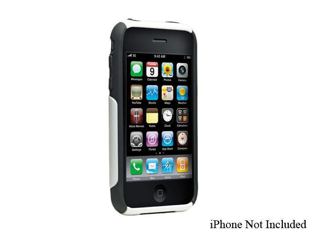 OtterBox Commuter White Solid Case For iPhone 3G / 3GS                                                                   ...