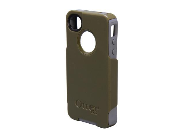 OtterBox Commuter Envy Green PC / Gunmetal Grey Slip Cover Solid Case for iPhone 4/4S                                                                                APL4-I4SUN-F2-E4OTR