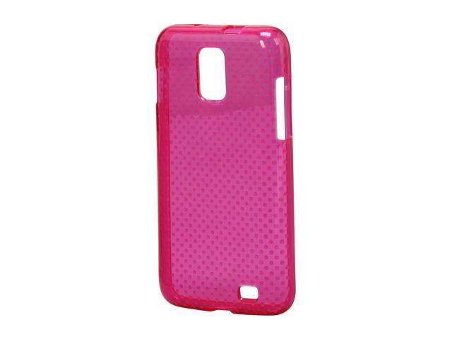 Wireless Solutions Plum Pink Dots Dura-Gel Case For Samsung Galaxy S II Skyrocket 378579