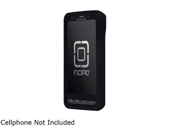 Incipio SILICRYLIC Black / Black Hard Shell Case w/ Silicone Core For Motorola DROID X2 MT-127