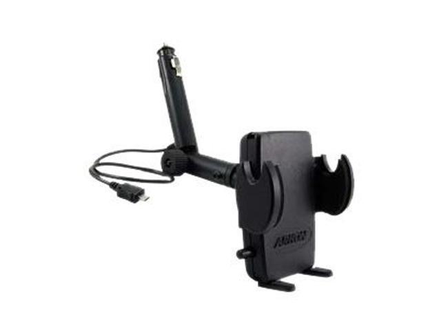 ARKON Mega Grip Lighter Socket Mount with Micro USB SM421-MICRO