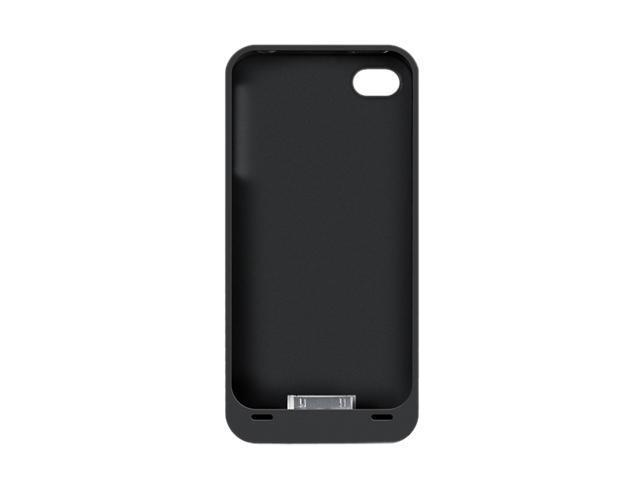 Spyder Digital Research PowerShadow Black 2000 mAh Battery Case & Charge/Sync Dock for iPhone 4/4S i4