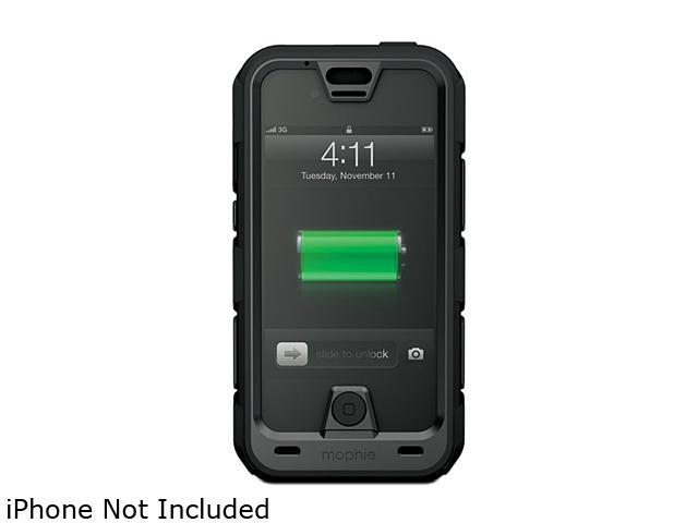 mophie juice pack PRO Black 2500 mAh Battery Case For iPhone 4 / 4S 2120_JPPR-IP4-BLK