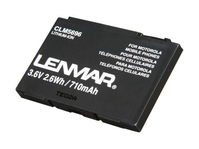 Lenmar Black Battery for Motorola Cellphone (CLM5696)