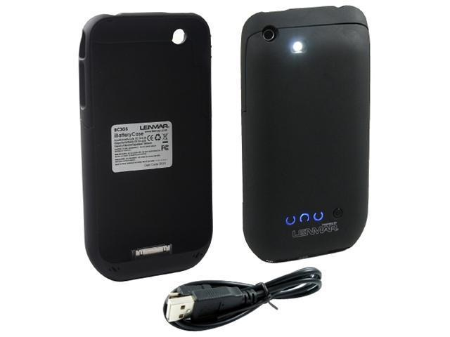 Lenmar iBatteryCase Gray Solid 1300mAh Battery Case for iPhone 3G/3GS BC3GS