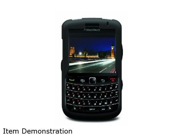 iLuv Black Silicone Case For BlackBerry Bold 9700 iBB304BLK
