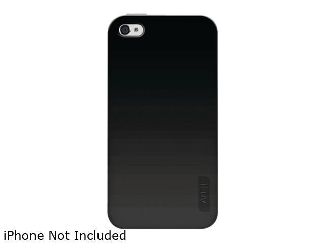 iLuv Gelato Black Solid Flex-Gel Case for iPhone 4 CDMA iCC746BLK