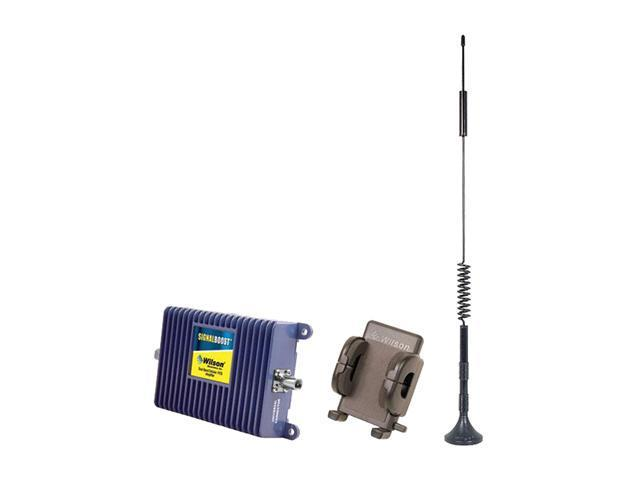 Wilson Electronics SIGNALBOOST Cell Phone Signal Booster Kit for Vehicle w/ Hands Free Cradle for Single User (811214)