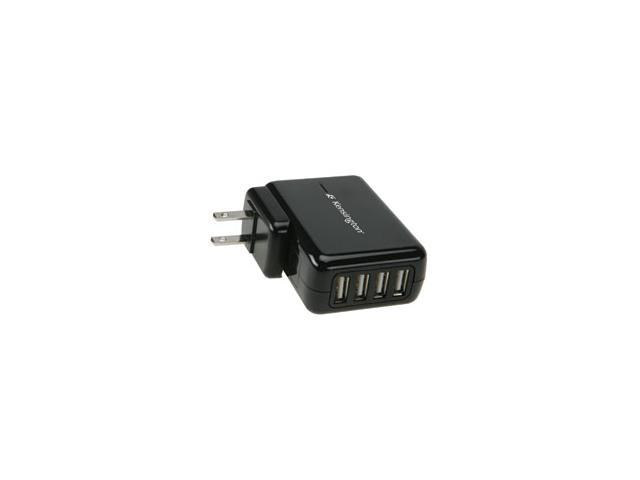 Kensington 4-Port USB Charger for Mobile Devices (K38035US)
