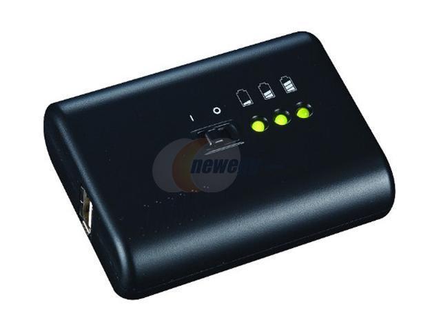 Macsense Black Just Mobile Gum Pro 4400mAh Power Pack PP-08