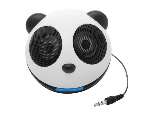 Accessory Power Multi-Colored 3.5mm Portable Speaker System GG-PANDA-PAL