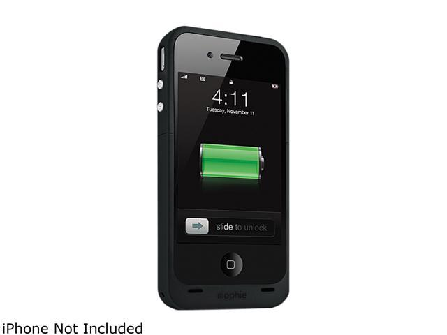 mophie Black Juice Pack Plus for iPhone 4 (1160_JPPLP4)