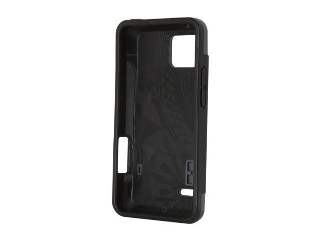 Case-Mate Pop! Gray / Black Pop! Case For Motorola DROID Bionic CM016811