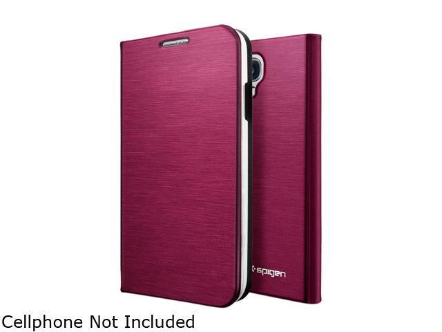 Spigen Slim Wallet Metallic Red Case For Samsung Galaxy S4 SGP10281