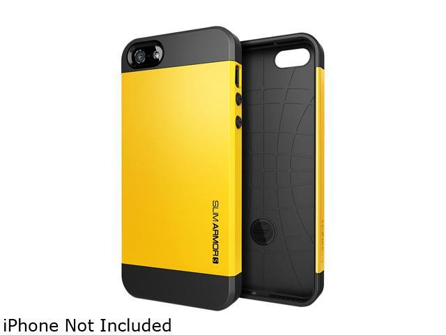 Spigen Slim Armor S Reventon Yellow Spider Web Case For iPhone 5 / 5S SGP10368