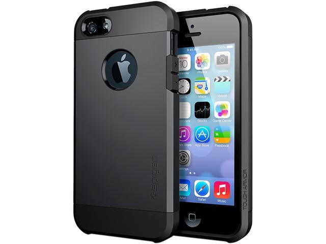 Spigen Tough Armor Smooth Black Case For iPhone 5 / 5S SGP10492