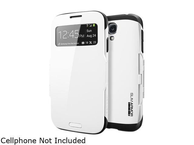 Spigen Slim Armor View Infinity White Case For Galaxy S4 SGP10344