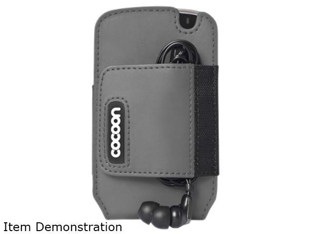 Cocoon City Gray Backpack & Messenger Bag Holster Case For BlackBerry Bold 9000 CCPC50GY