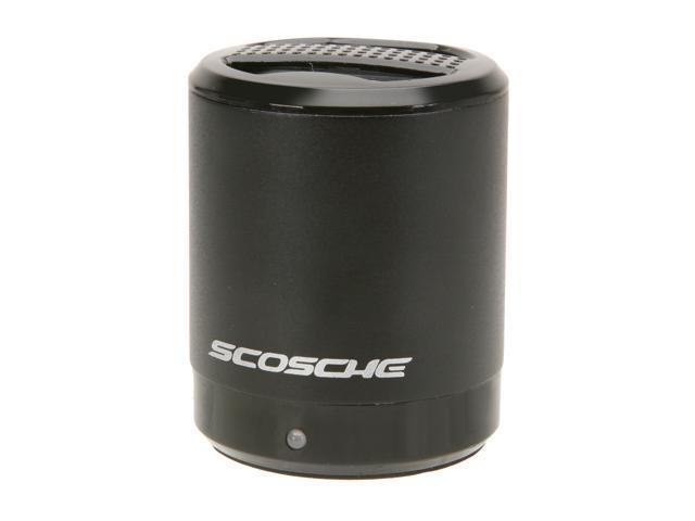 SCOSCHE Black boomCAN Portable Media Speaker PMSBK