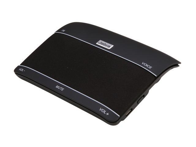 Jabra FREEWAY Black Bluetooth Wireless Speakerphone with Wideband/DSP Technology (100-46000000-02)