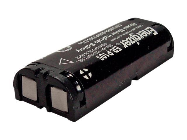 Energizer Black Battery Replaces For Panasonic HHR-P105 ER-P105