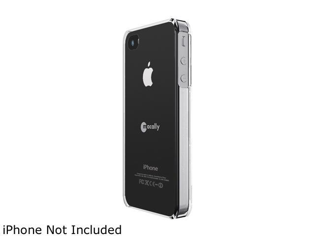 macally Clear Snap-on Protective Case For iPhone 4 (METROCP4)