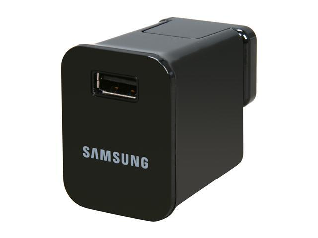 SAMSUNG ETA-P10JBEGSTA Black Travel Charger For Galaxy Tab