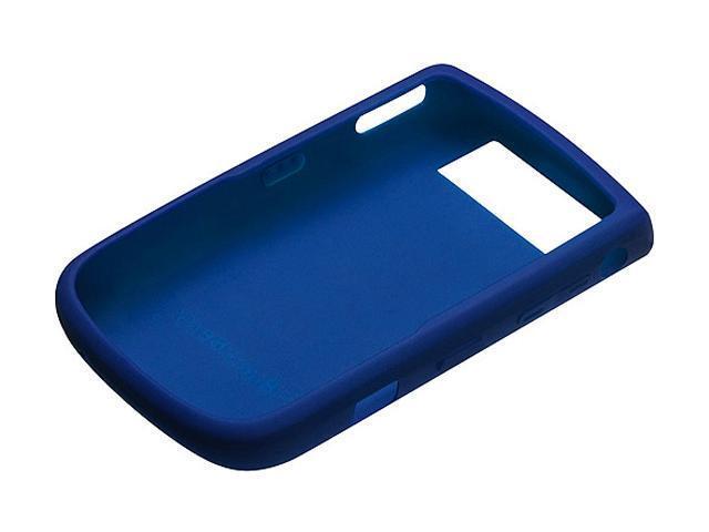 BlackBerry Dark Blue Rubber Skin Case for Tour 9630 HDW-23471-003