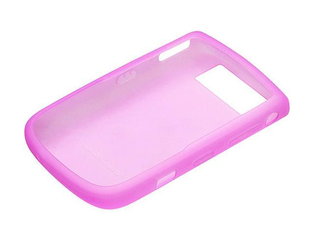 BlackBerry Pink Rubber Skin Case for Tour 9630 HDW-23471-005