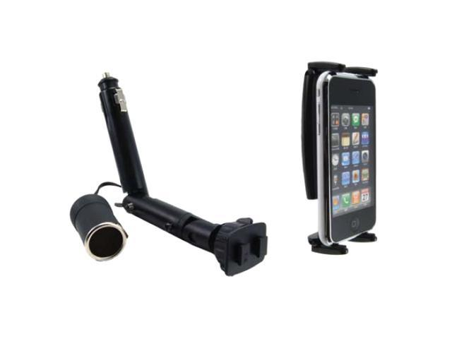 ARKON Lighter Socket Mount with Power Dongle for iPhone 4 IPM521
