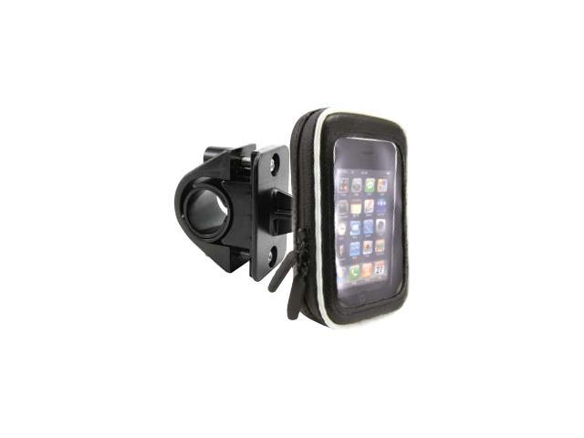 ARKON Bicycle or Motorcycle Handlebar Mount with Water Resistant Holder for iPhone (SM032)