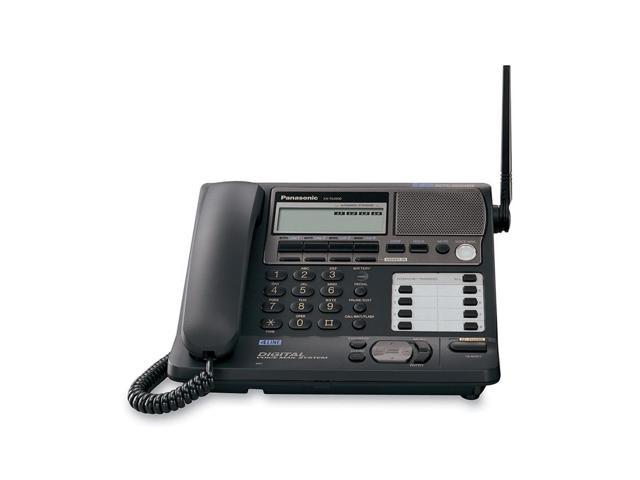 Panasonic KX-TG4500B 5.8 GHz Digital FHSS 1X Handsets Cordless Phone