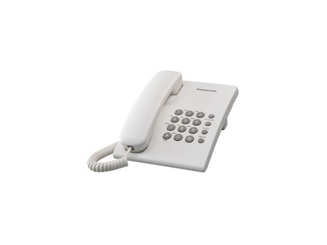 Panasonic KX-TS550W 1-line Operation Corded Phone